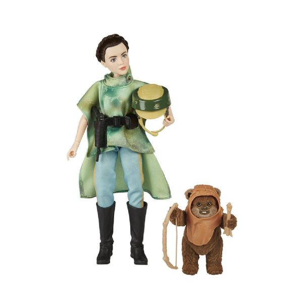 Star Wars Forces of Destiny Endor Adventure Princess Leia & Wicket Toy Figures